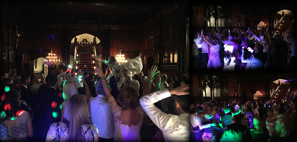 Wedding DJ set at Allerton Castle