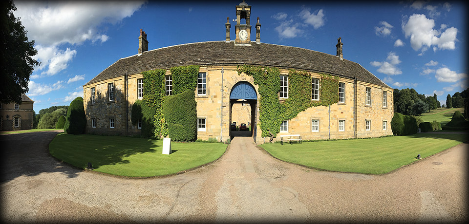 Marquee Wedding DJ set at Newburgh Priory