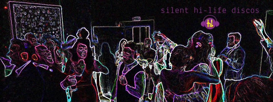 silent discos for weddings and parties