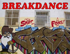 breakdance - old skool hip hop funk breaks hip-hop dj hire Sheffield Derby Nottingham