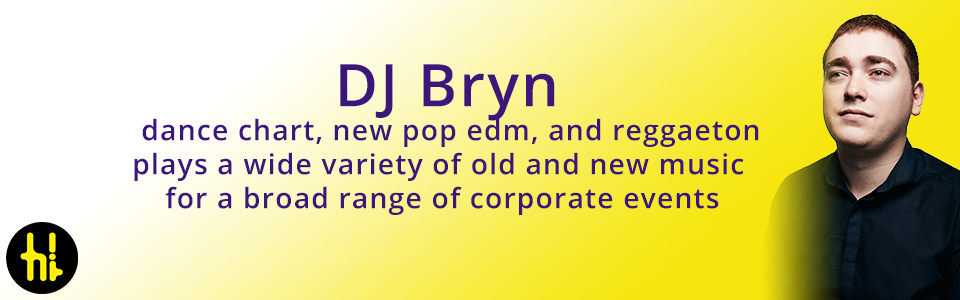 mobile DJ Bryn for pop motown disco and reggaeton in Manchester