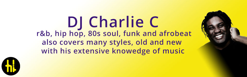wedding dj Charlie C plays Motown, soul, urban and dance in the North East