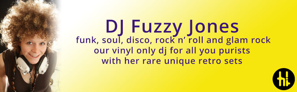 female DJ Fuzzy Jones vinyl DJ funk soul disco b-sides girl