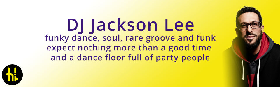 wedding dj playing soul blues and funk DJ Jackson Lee