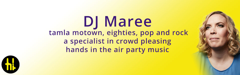 DJ Maree plays Motown, dance and pop in Glasgow and Dumfries