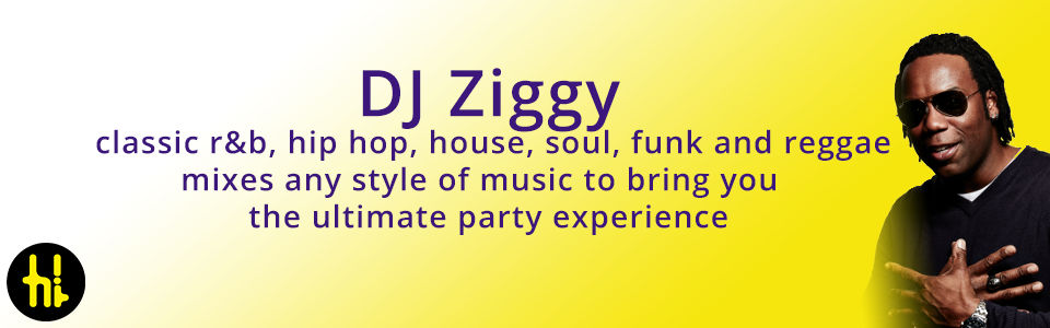 wedding dj & disco hire in Sheffield and the Peak District DJ Ziggy