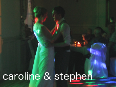 mobile wedding DJ set in Wetherby, Yorkshire
